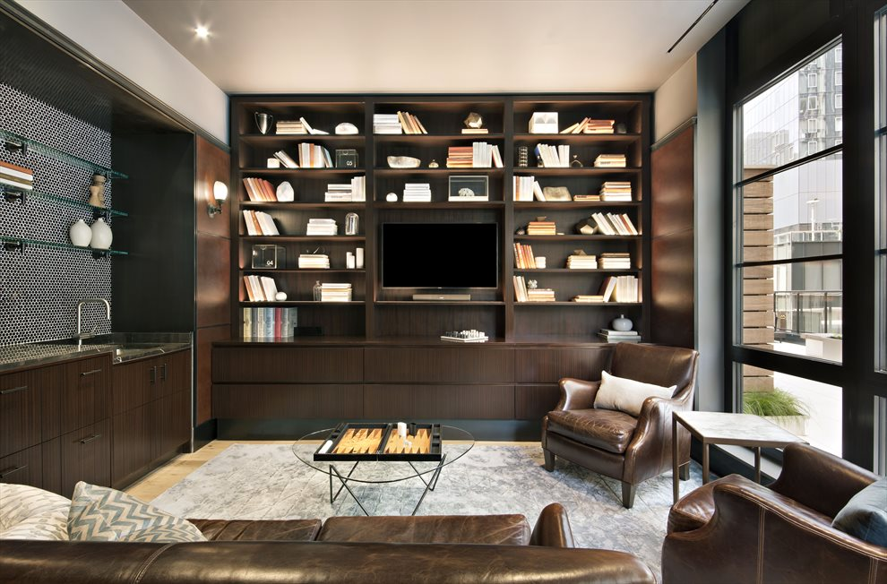 The Noma | 50 West 30th Street | Library Lounge