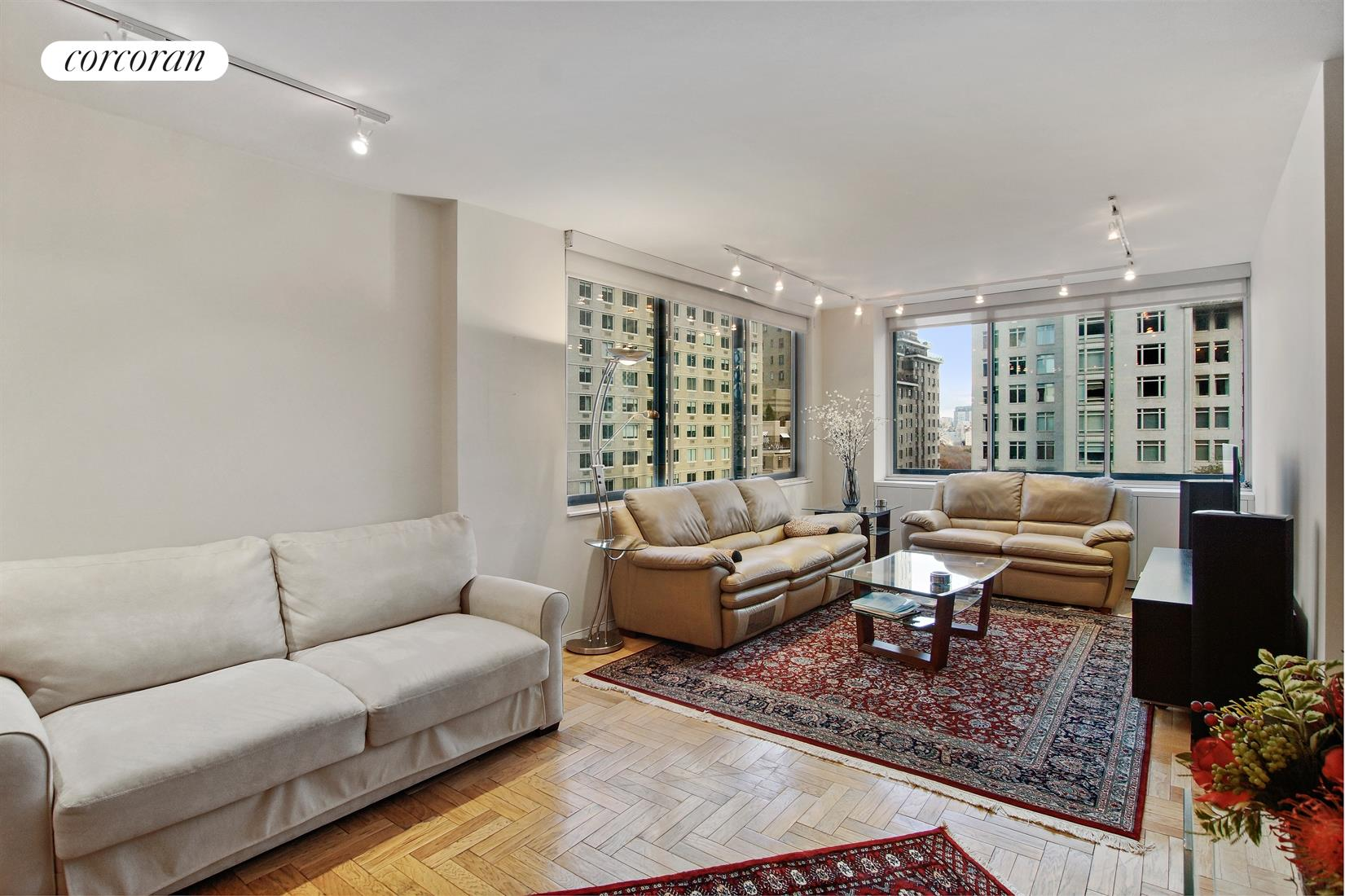 62 West 62nd Street, 12E, Living Room