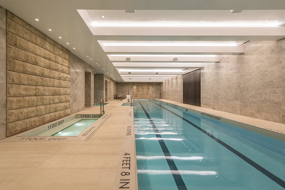 New York City Real Estate | View 70 VESTRY ST, #3F | 82-Foot Swimming Pool