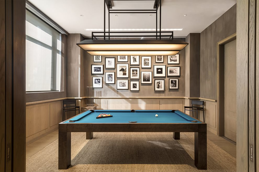 New York City Real Estate | View 70 VESTRY ST, #3F | Billiard Room