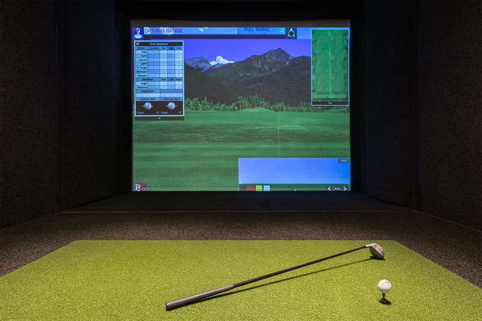 New York City Real Estate | View 70 VESTRY ST, #3F | Golf Simulator