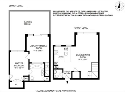 New York City Real Estate | View 61 Conselyea Street, #B1 | Floorplan 2
