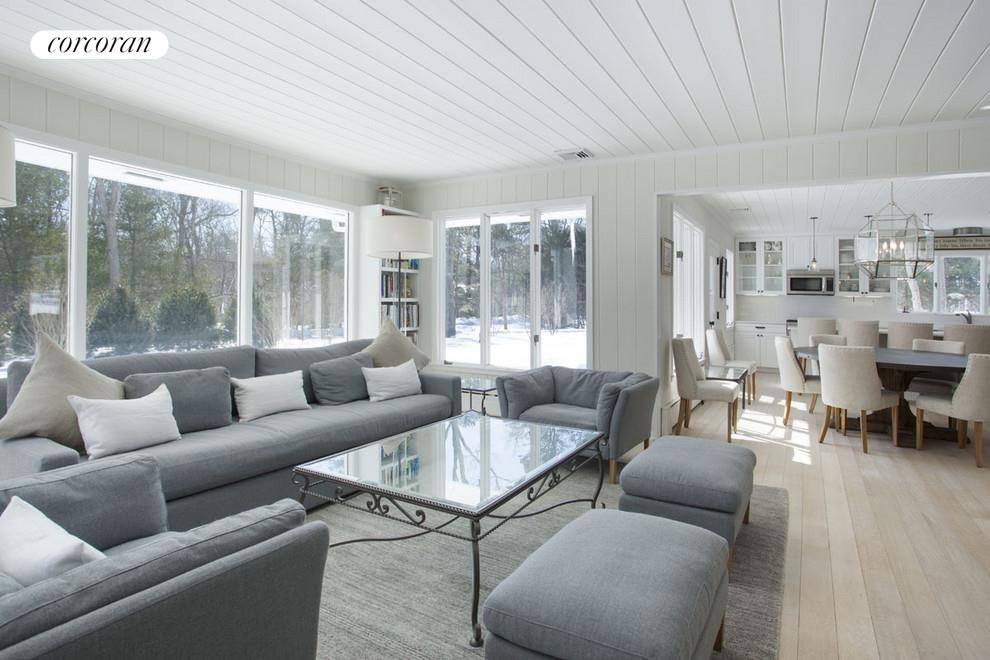 Living Room. East Hampton, Aerial