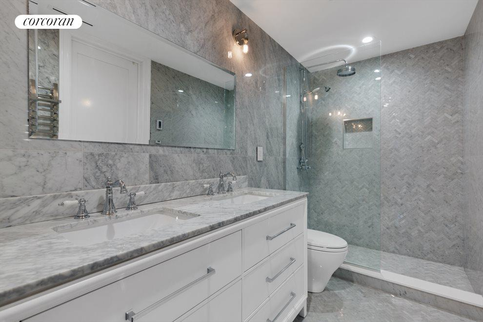 Radiant Heated Master Bathroom