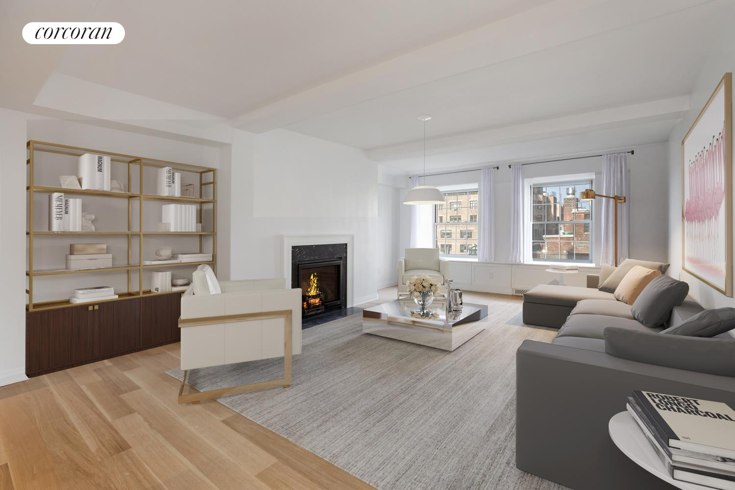 12 East 88th Street, 10A, Living Room
