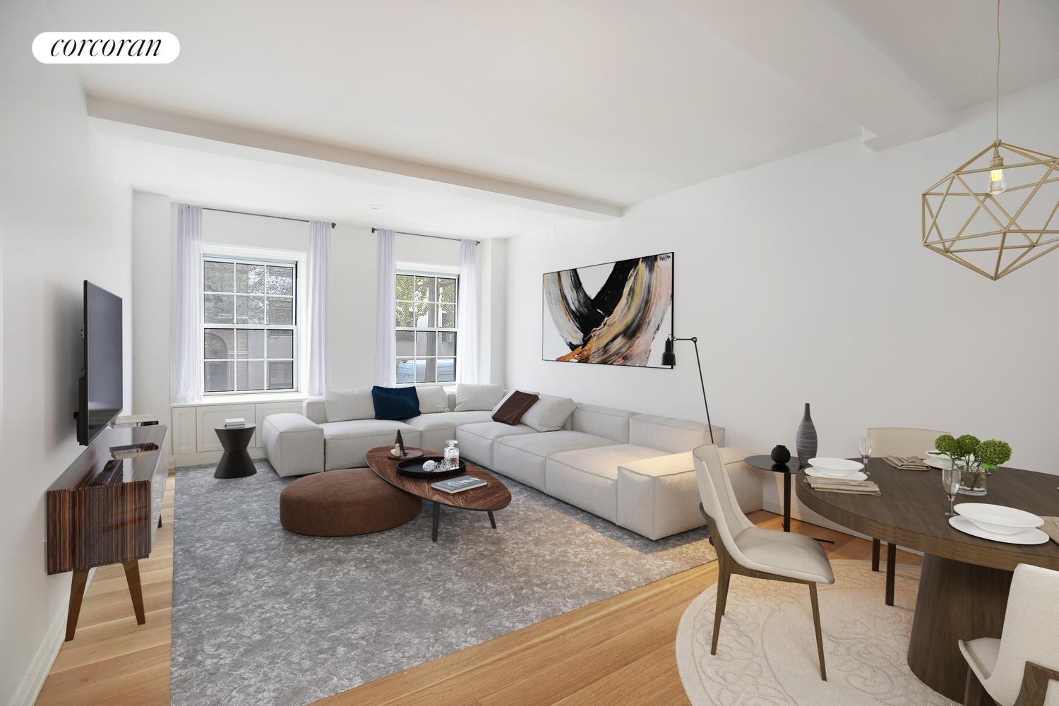 12 East 88th Street, 2C, Living Room