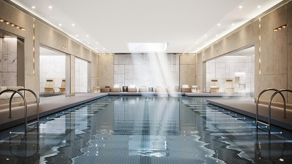 The Waterline Club Pool