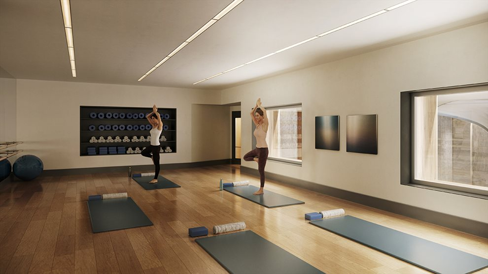 Waterline Square | 10 Riverside Blvd | Yoga/Barre Studio