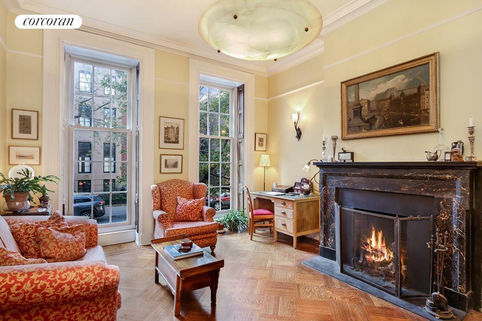 Stunning Double Parlor