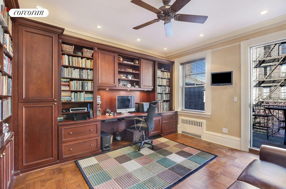 Library or Bedroom