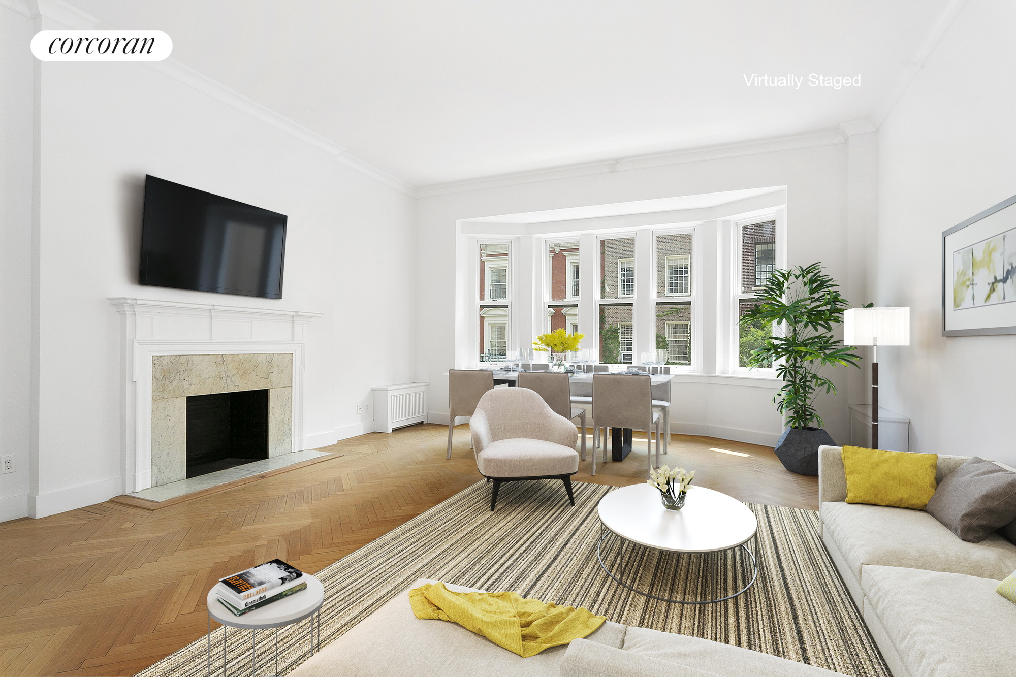 9 East 78th Street, 3F, Living Room